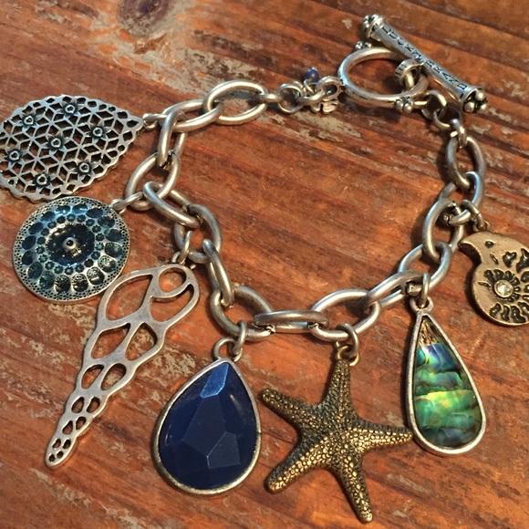 Lucky Brand Jewelry - Lucky brand silver nautical charm bracelet